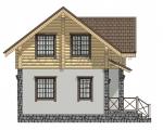 Дом комбинированный 004