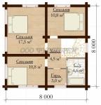 Проект дома №1021
