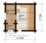 Проект бани №146