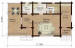 Проект бани № 148