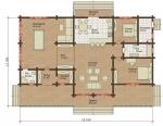 Проект дома 7847
