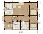 Проект дома № 1172