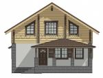 Дом комбинированный 003