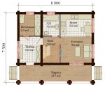 Проект дома №7827