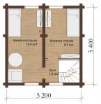 Проект бани № 138
