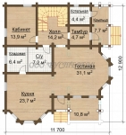 Проект дома №715