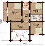 Проект дома Надежда-2