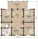 Проект дома №7824