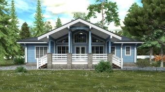 Проект дома 7771