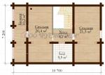 Проект дома №1019