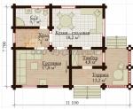Проект дома №7859