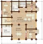 Проект дома №7828