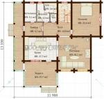 Проект дома Надежда-8