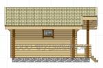 Проект бани №154