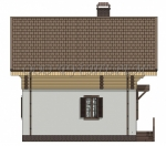 Дом комбинированный 001