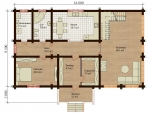Проект дома 7772