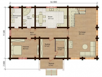 Проект дома 7860