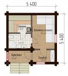 Проект бани №158