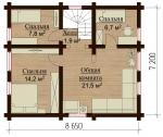 Проект дома №7814