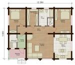 Проект дома 7773