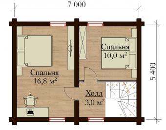 Проект дома 7851
