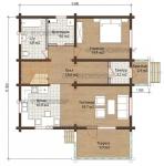 Проект дома 7729