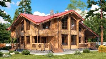 """Проект дома №7837 """"Золотое сечение"""""""