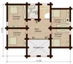 Проект дома №7898
