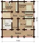 Проект дома №14224
