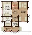 Проект дома №1044