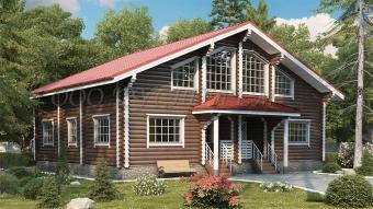 Проект дома Duplex
